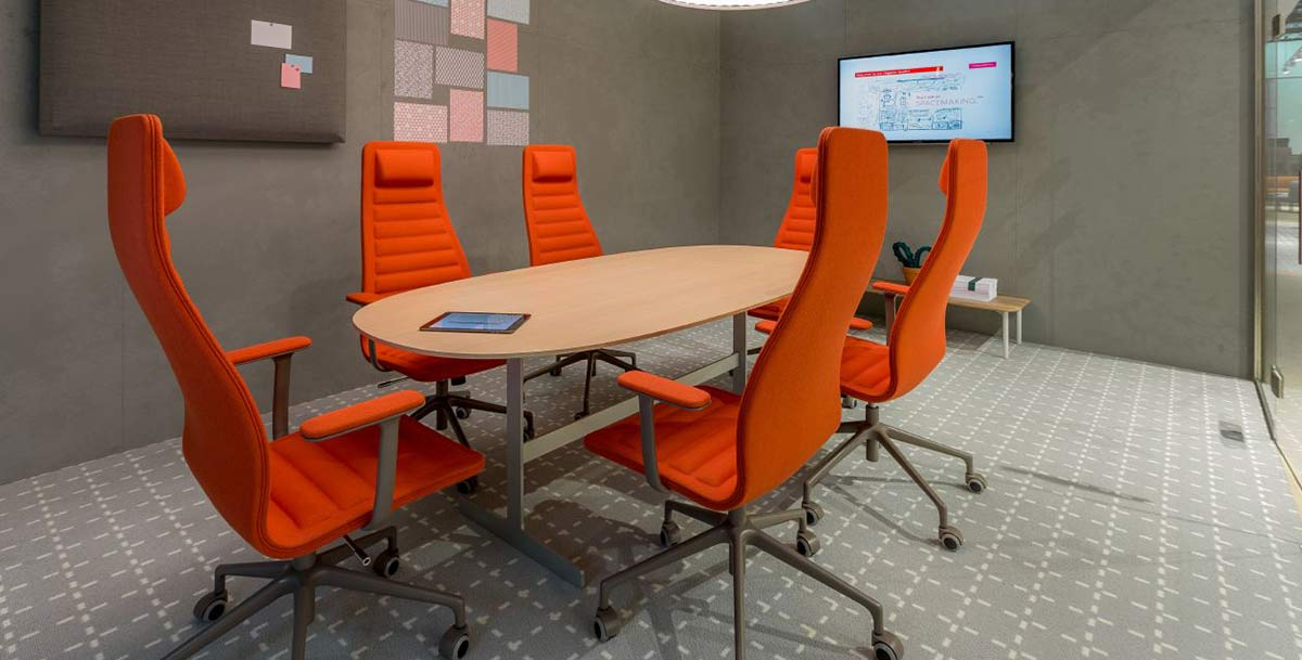 production facility office furniture strategy