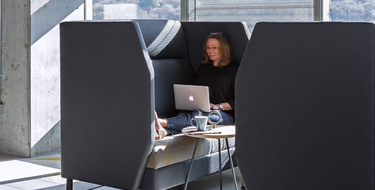 5 Office Furniture Trends with Staying Power pod seating