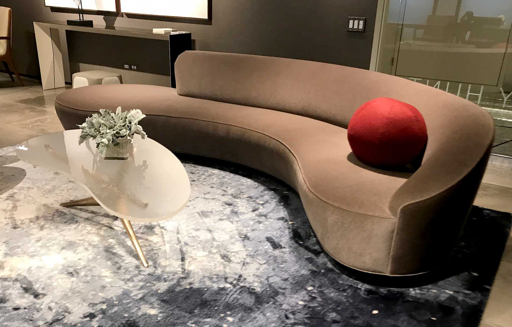 5 Trends We Saw at NeoCon 2018 - from Unisource Solutions - 1. Organic Furniture shapes