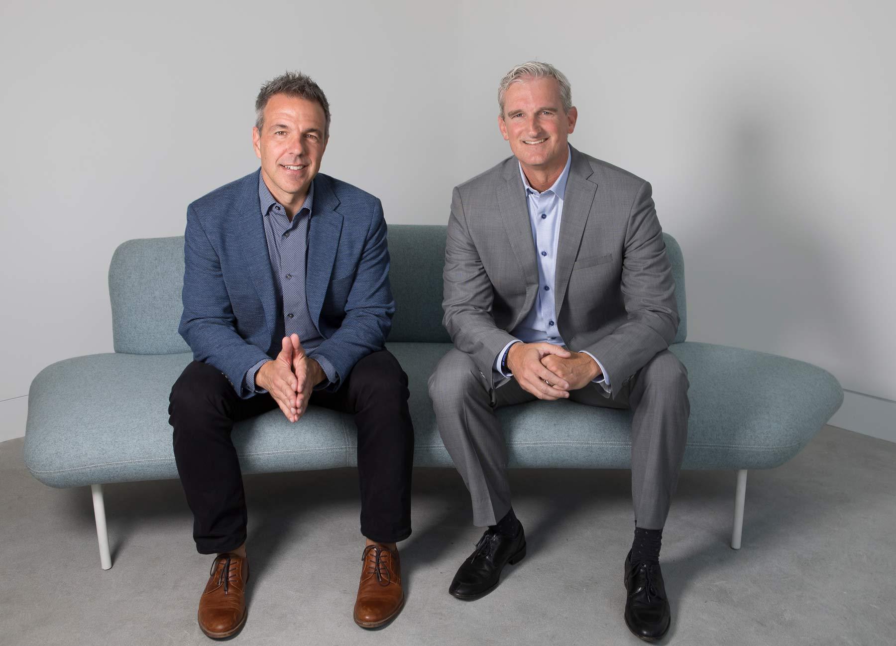 Jeffrey Braun, Executive Vice President, Platform-U by Unisource Solutions; Rick Bartlett, President, Sales and Marketing, Unisource Solution