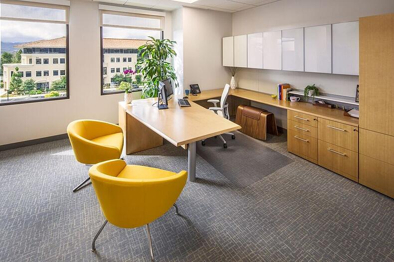 Innovative offices are embracing an agile workspace design