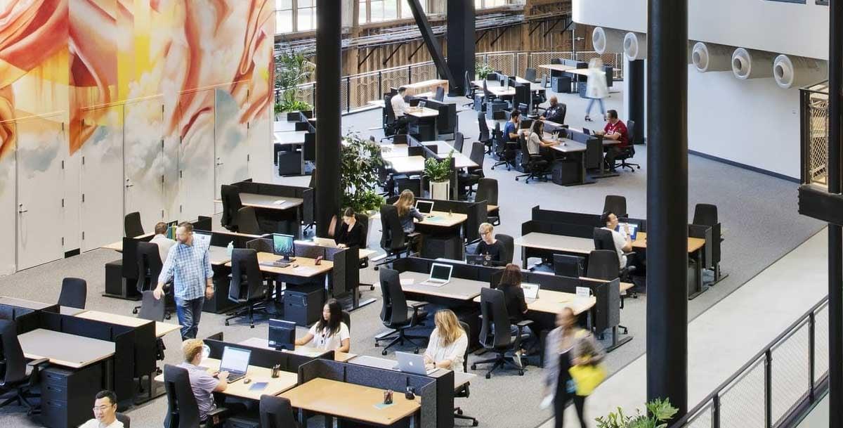 agile office floorpan