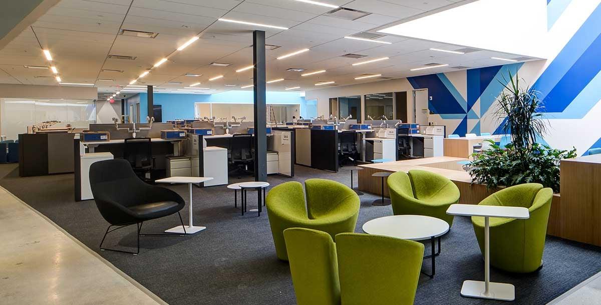 open office floorpan