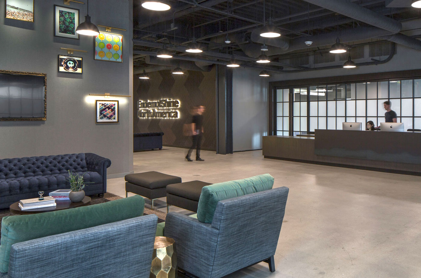 Recimercial office design for Endemol Shine North America