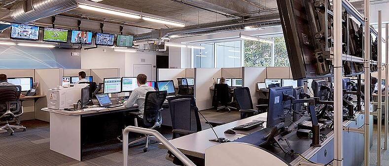 Pac-12 Network Agile Office featuring flexible workspace for growth and value