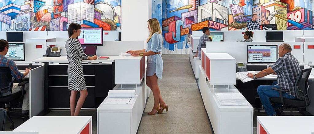 Workspace design trends for greater productivity