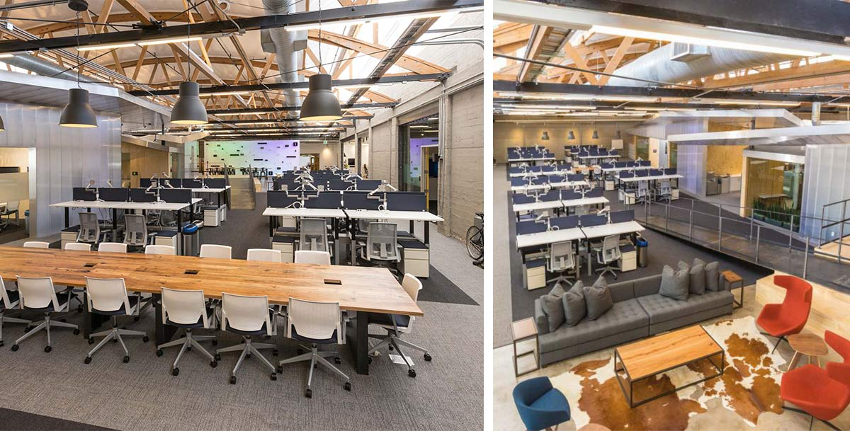 Sonos corporate office furniture by Unisource Solutions