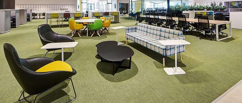 Unisource Solutions provides systems furniture for the agile office