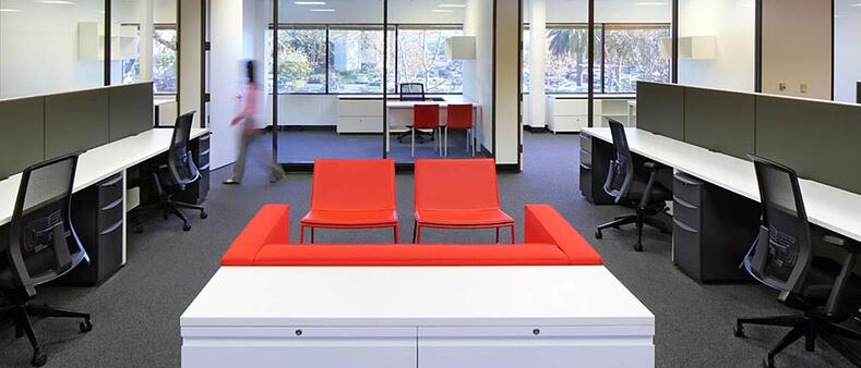 systems furniture for the agile office by Unisource Solutions
