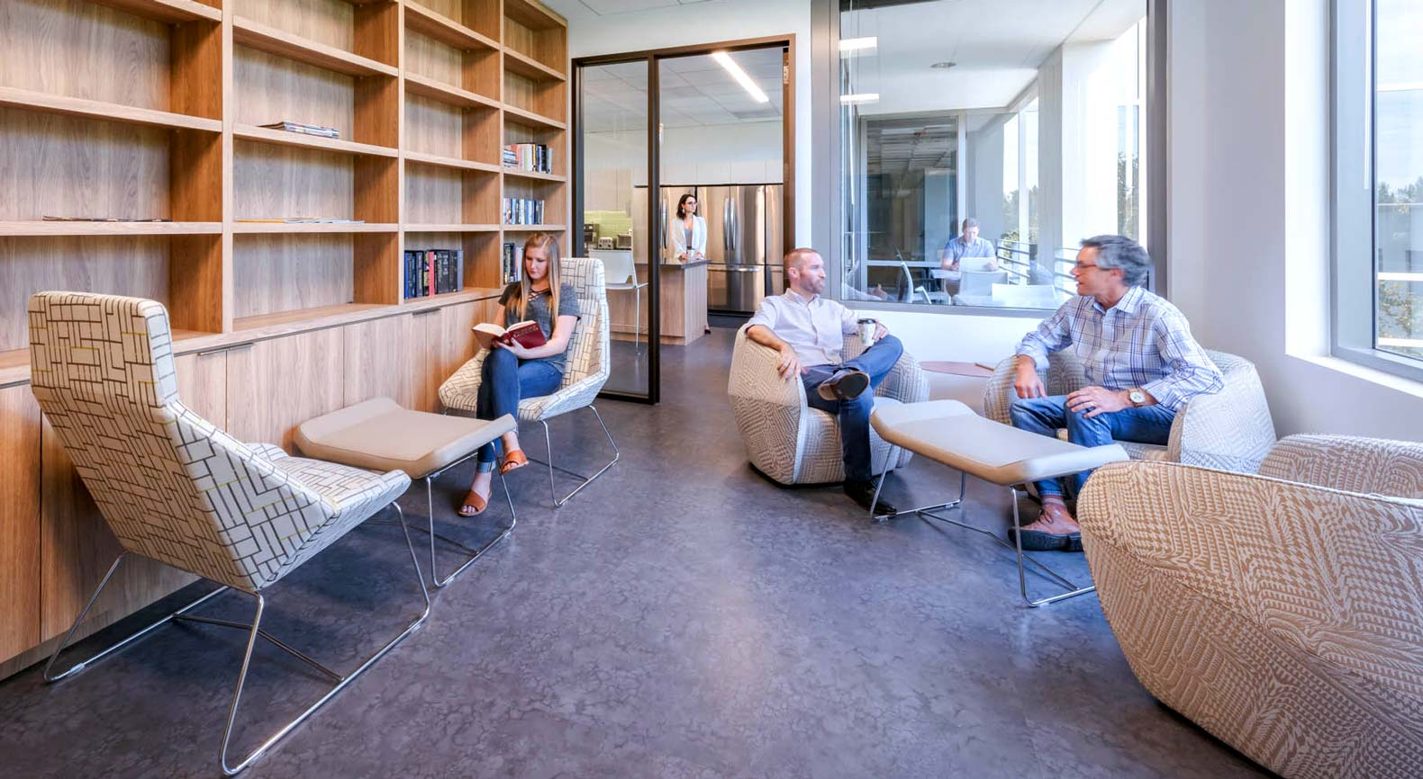 office design to attract and retain talent