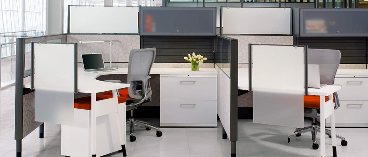 Systems furniture to make the most of an agile office